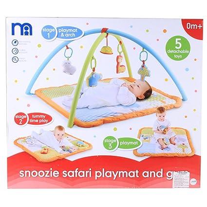 buy popular ba348 cc44a Mothercare Snoozy Safari Playmat: Amazon.in: Toys & Games