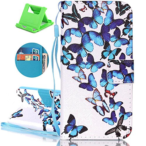 Flip Colorful Wallet Slots Case 7 Absorption Purse Wi Protective Cover magnetic Pu card Katech Iphone Shell And Plus Case Leather shock 2 Closure 8 Premium Smartphone IqSYYTAxw
