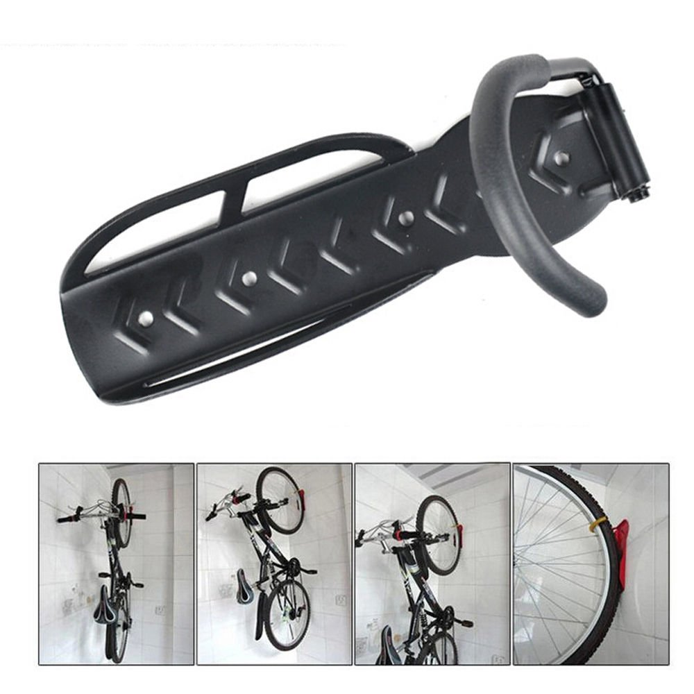 4 Bicycle Wall Mount Hook Hanger Garage Bike Storage Steel Holder Rack Stand Steel by TF-Godung (Image #6)