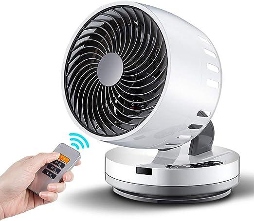Silencioso Control Remoto Ventilador Circulador De Aire, Compacto ...