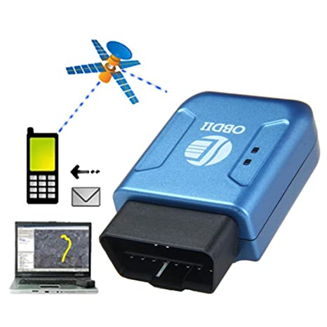 Amazon com: GBSELL OBD2 OBDII GPS GPRS Real Time Tracker Car Vehicle
