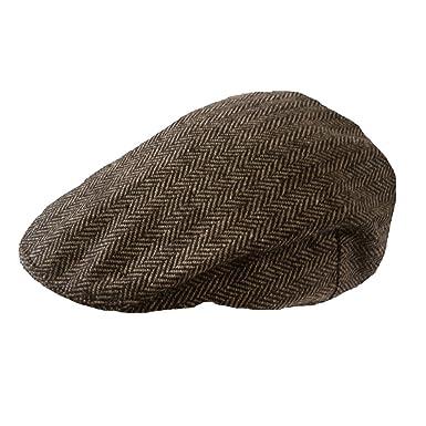 06a83fc3e0a TOSKATOK Boys Girls Kids Tweed Flat Cap  Amazon.co.uk  Clothing