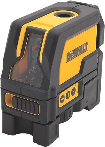 STANLEY BLACK DECKER DW0822 Self-Leveling Cross Line and Plumb Spots Laser, Clear