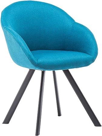 Medidas: 79,5 x 55 x 59 cm (alto x largo x ancho),Color: azul lago,Materiales: metal, tejido (100 %