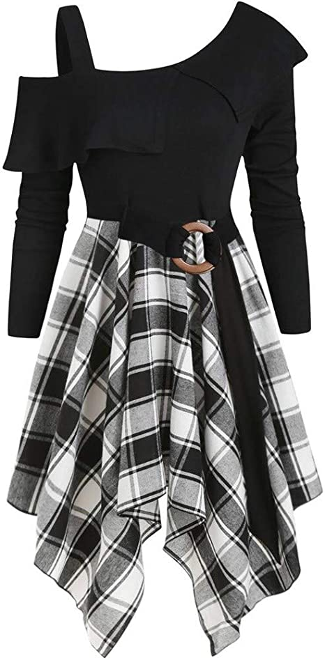 Sweet Vintage Gothic Goth Women Sweatshirt  Hoodies Outwear Plaid Tartan Linning