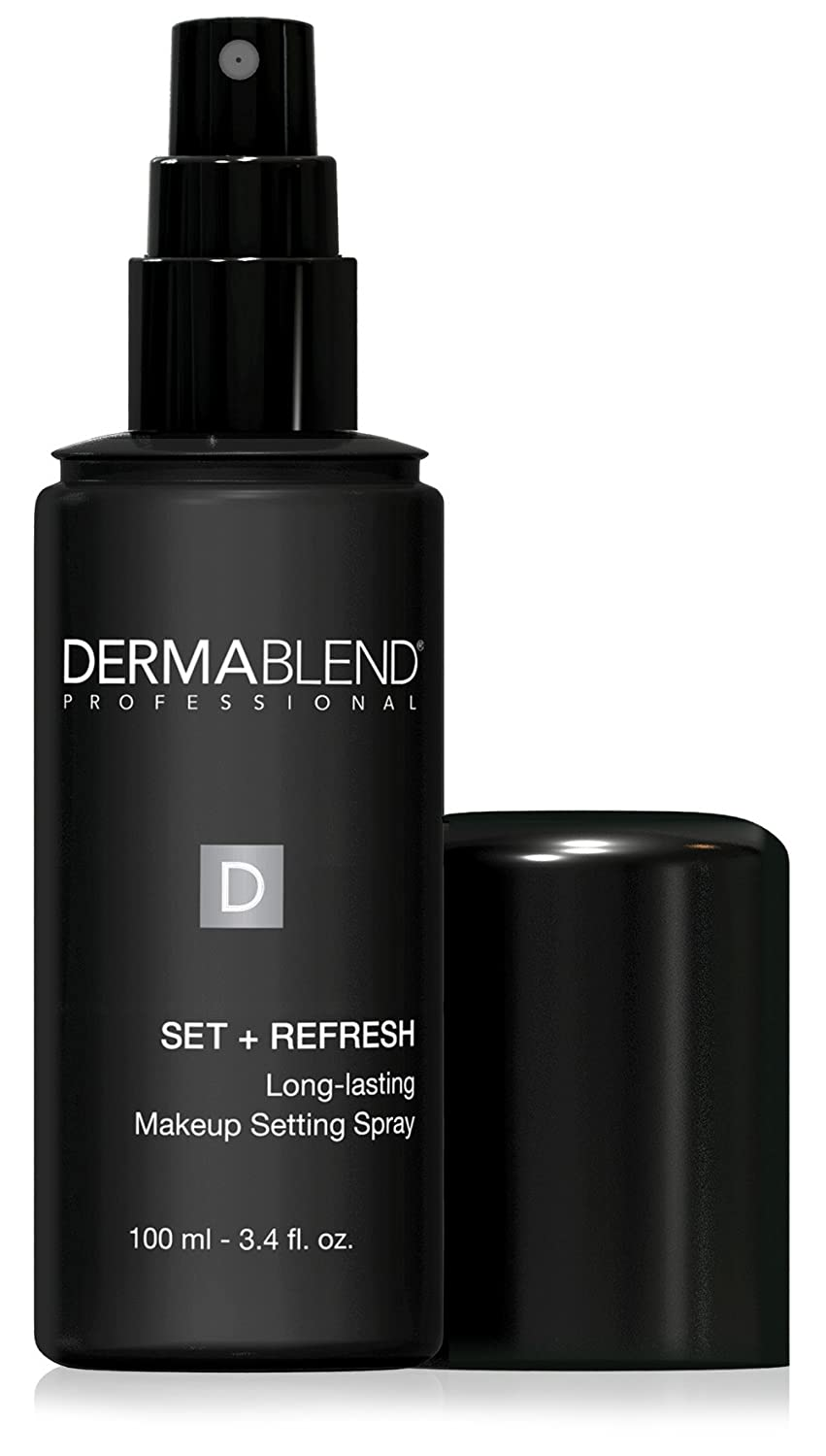 Dermablend Set Plus Refresh Long Lasting Makeup Setting Spray 3.4 Fluid Ounces