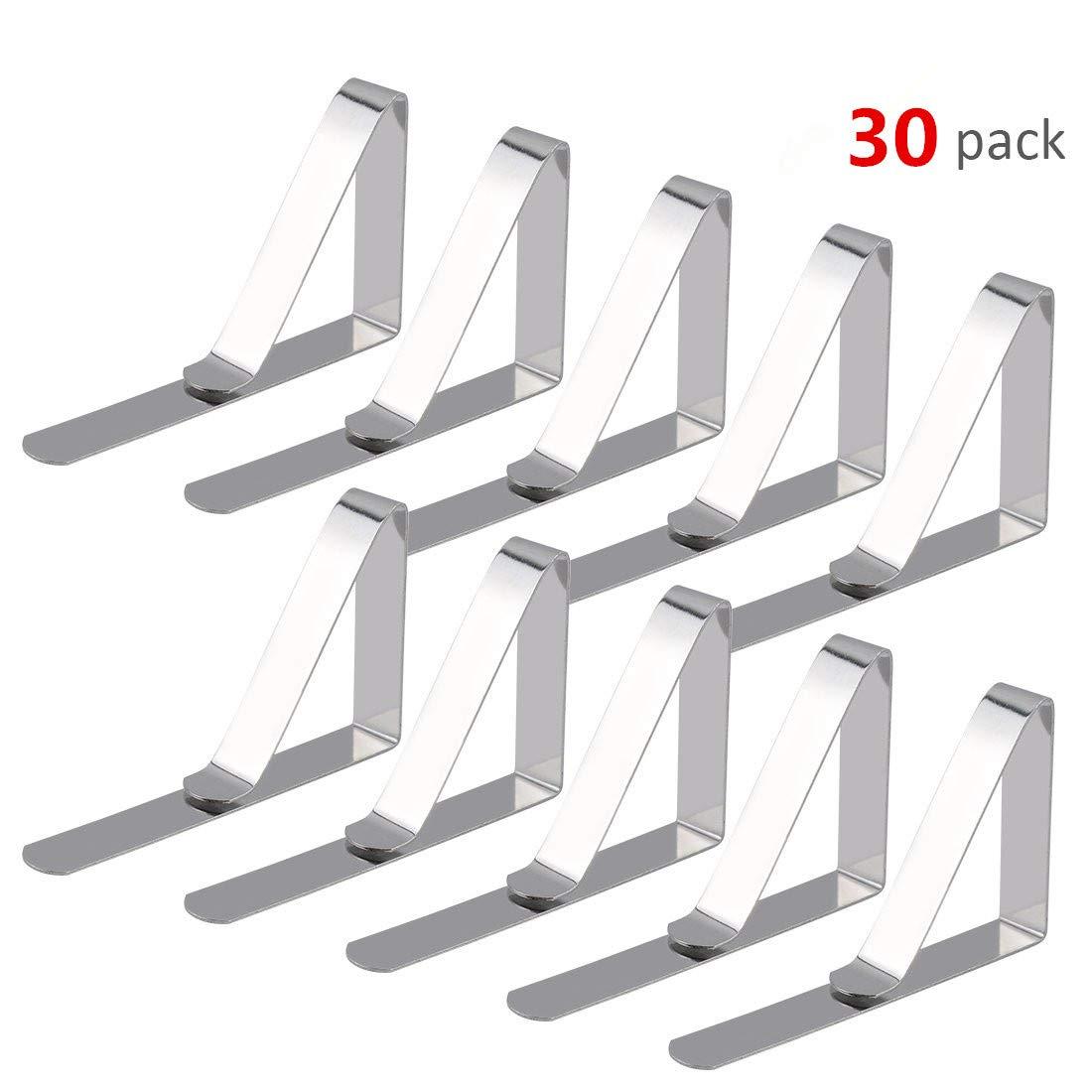 Pinzas de Mantel de 30 Pcs, Clip de Mantel para Mesas de Metal ...