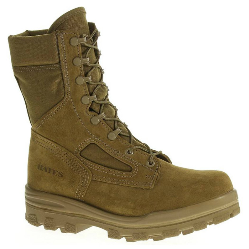 Bates Men's E70701 Durashock Steel Toe 4E Safety Boots, Tan, 12.5 XW by Bates
