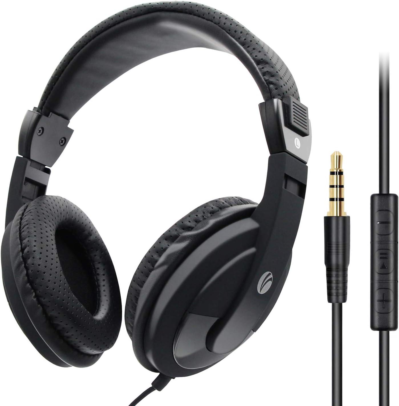 casque audio avec fil long et leger
