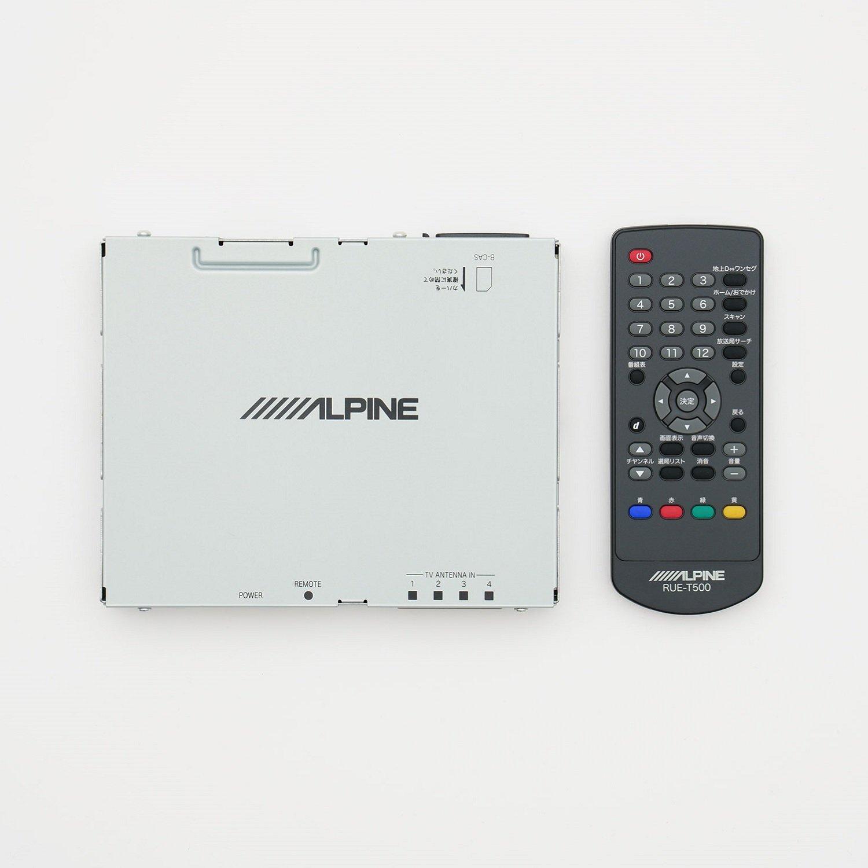 アルパイン(ALPINE) 4×4地上デジタルチューナー 地デジ RCA接続 (フルセグ/ワンセグ) TUE-T500 B07DDD7DKT
