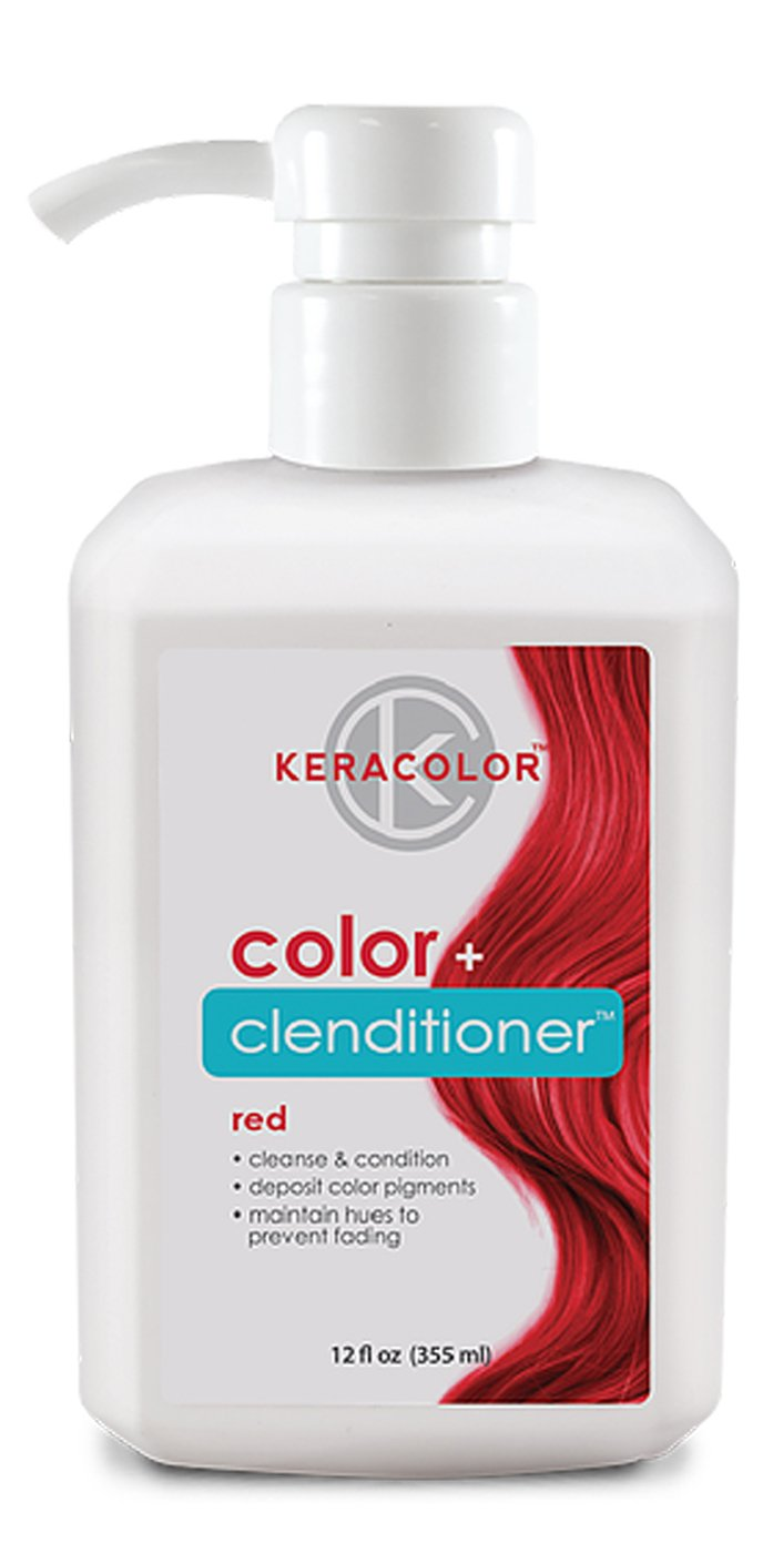 Keracolor Color + Clenditioner 12oz (Red) by KERACOLOR