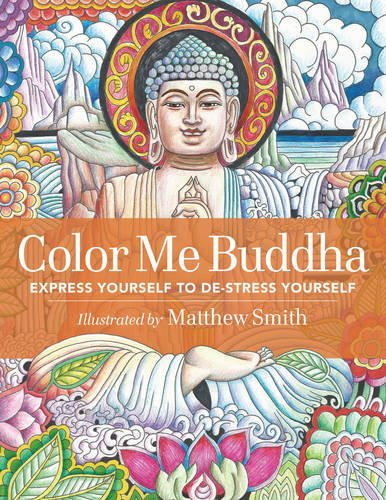 Color Me Buddha Yourself Stress product image