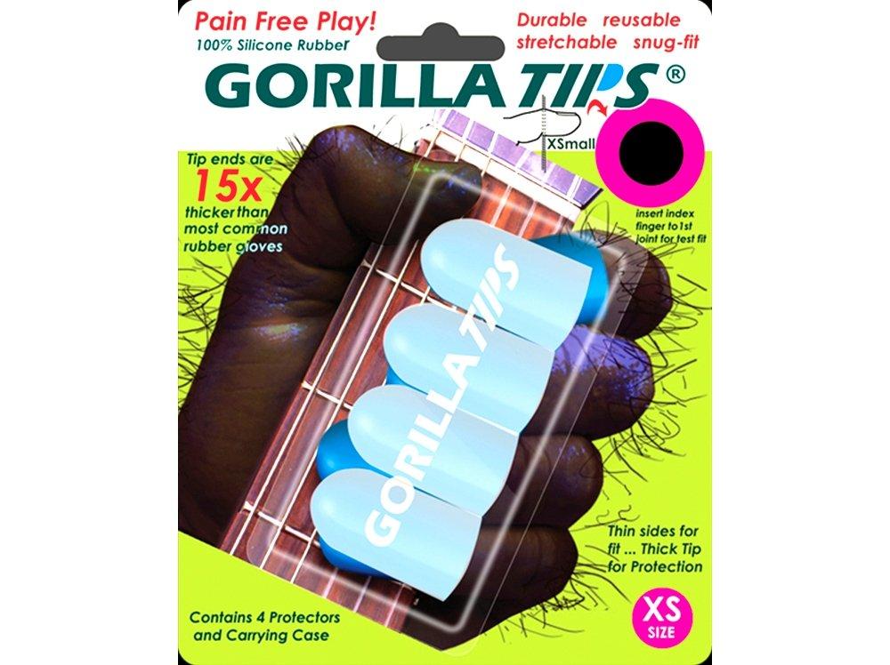 Gorilla Tips 98-GT100CLR Extra Small Finger Protectors