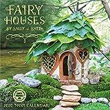 """Fairy Houses 2020 Mini Wall Calendar (7"""" x 7"""", 7"""" x 14"""" open)"""