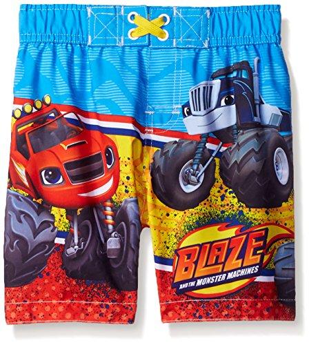 Blaze & The Monster Machines Boys' Blaze Swimtrunk