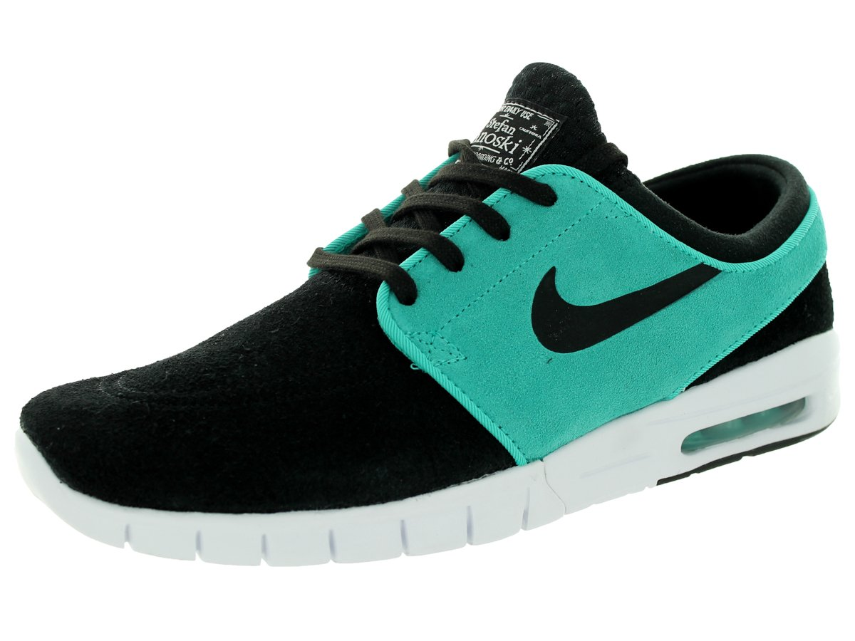 NIKE Men's Stefan Janoski Max L Skate Shoe B00VINM1LE 8.5 D(M) US|Black/Light Retro/White / Black