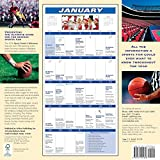 2018 Sports Fanatic Walmanac Wall Calendar