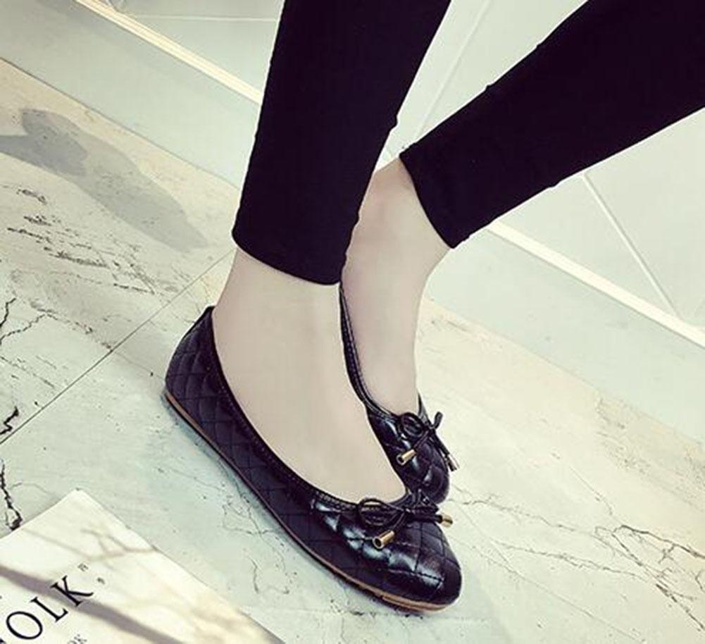 KUKI Bequeme große Bogenschuhe 1 rutschfeste flache Schuhe , 1 Bogenschuhe , US5.5 / EU35 / UK3.5 / CN35 - 7748b5