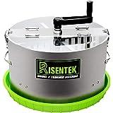 Risentek Bud Leaf Trimmer Machine Upgraded Model X 16-inch Hydroponic Bowl Trim for Cut Plant and Flower