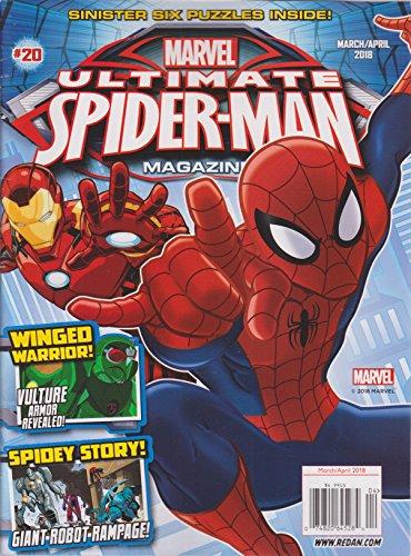 Spider Man Magazine - Marvel Ultimate Spider-man Magazine March/April 2018