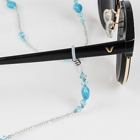 Soleebee 4 Pièces Corde Chaîne Attache pour Lunettes Porte-Lunettes avec  Perles en Cristal Artificielle  Amazon.fr  Bricolage 82c788a43d65