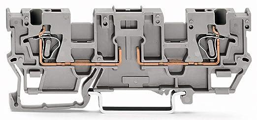 Wago 769-191 2-Conductor Carrier Terminal Block: Amazon com