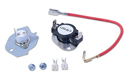 dryer hi temp cut out thermal fuse thermostat kit 279816 by jph pro products Inglis Dryer No Heat