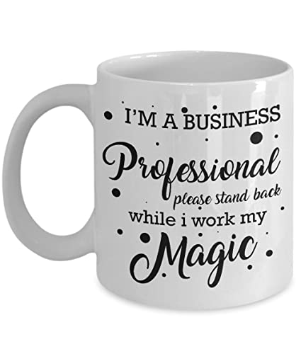 Best Coffee Mug-Business professional Gifts Ideas for Men and Women. I m 8f7c2076901