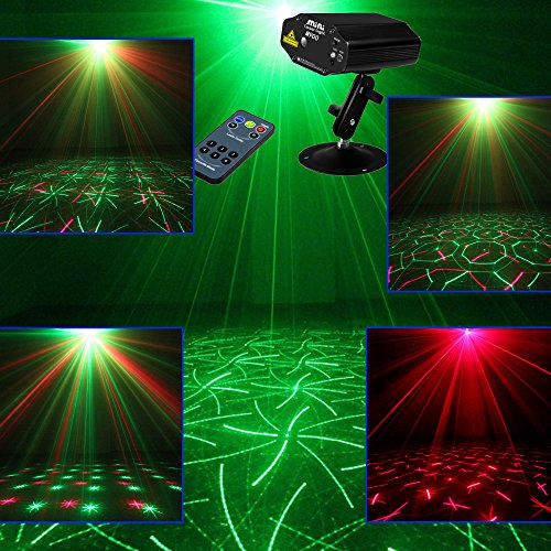 Sumger M900 Mini Remote Starry Skies RG Led Stage Laser Lighting Sound Active Equipment Effect Disco DJ Light Home Party Lights luces discoteca