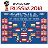 #9: World Cup 2018 Stickers - 24 x 36 Inches World Cup Poster