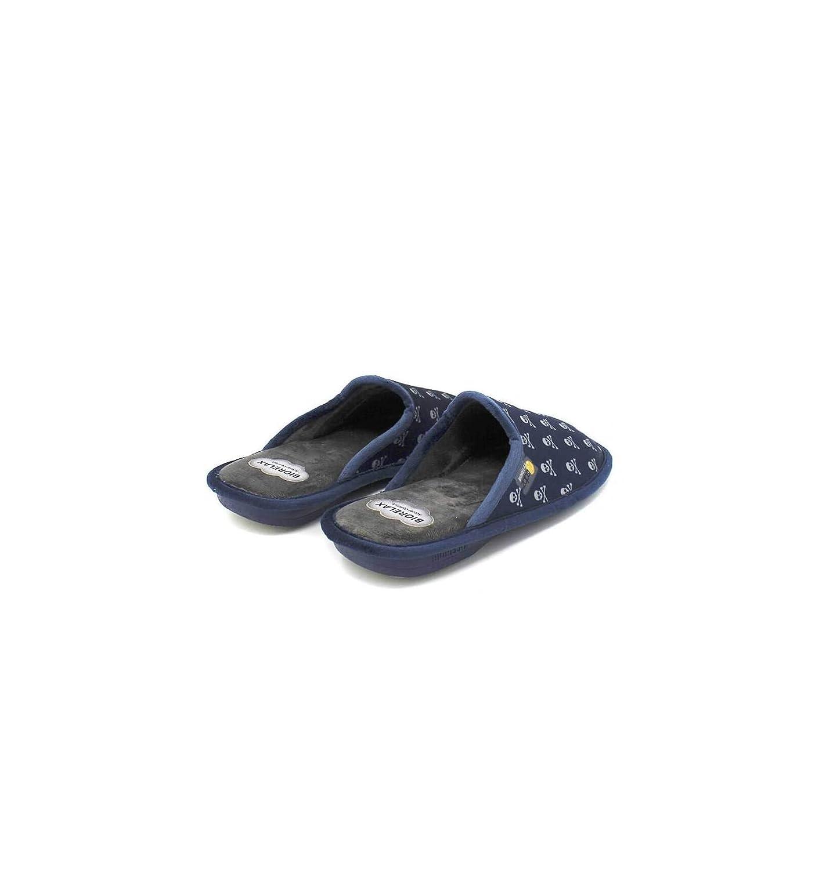Zapatilla de casa Estampado Calaveras Biorelax
