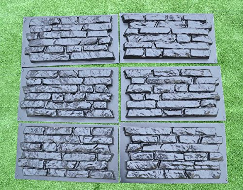 set-6-pcs-plastik-mold-concrete-plaster-wall-stone-tiles-for-forms-wall-w17