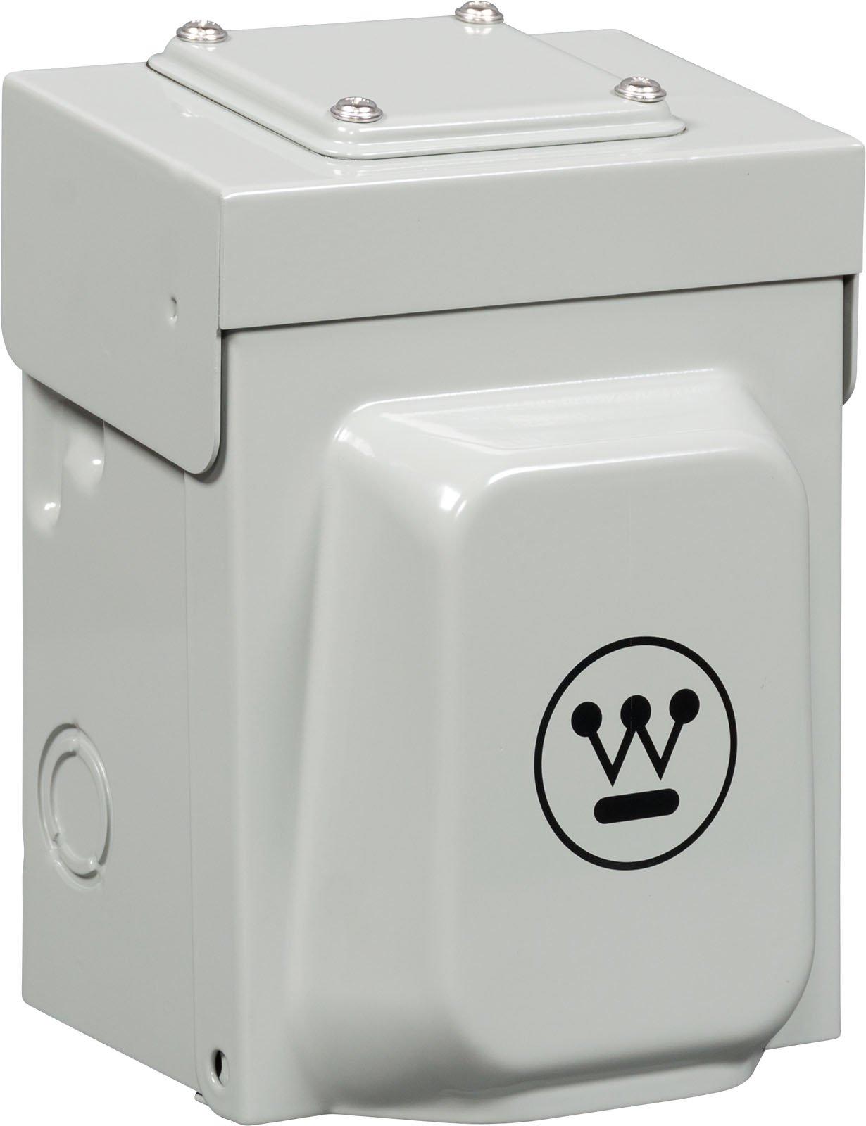 Westinghouse Heavy Duty 30 Amp (NEMA L14-30) Power Inlet Box for Portable Generator Transfer Switch
