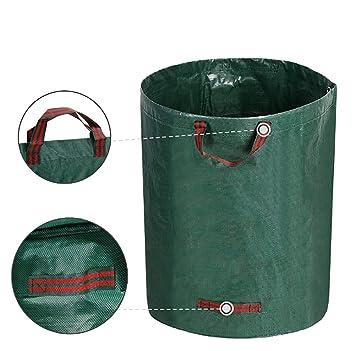 CXDM 3X Bolsas de Basura de jardín Resistente Saco de Jardín ...