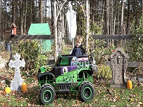 Power Wheels Ride - On Monster Truck Grave Digger - Off Road -