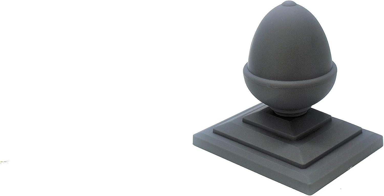 Linic UK Made Eichel Top Zaun Krone X 6//& 10,2/x 7,6/cm Zaunpfosten Gap Dunkelviolett Verrottungsfest UK Made. gt0067