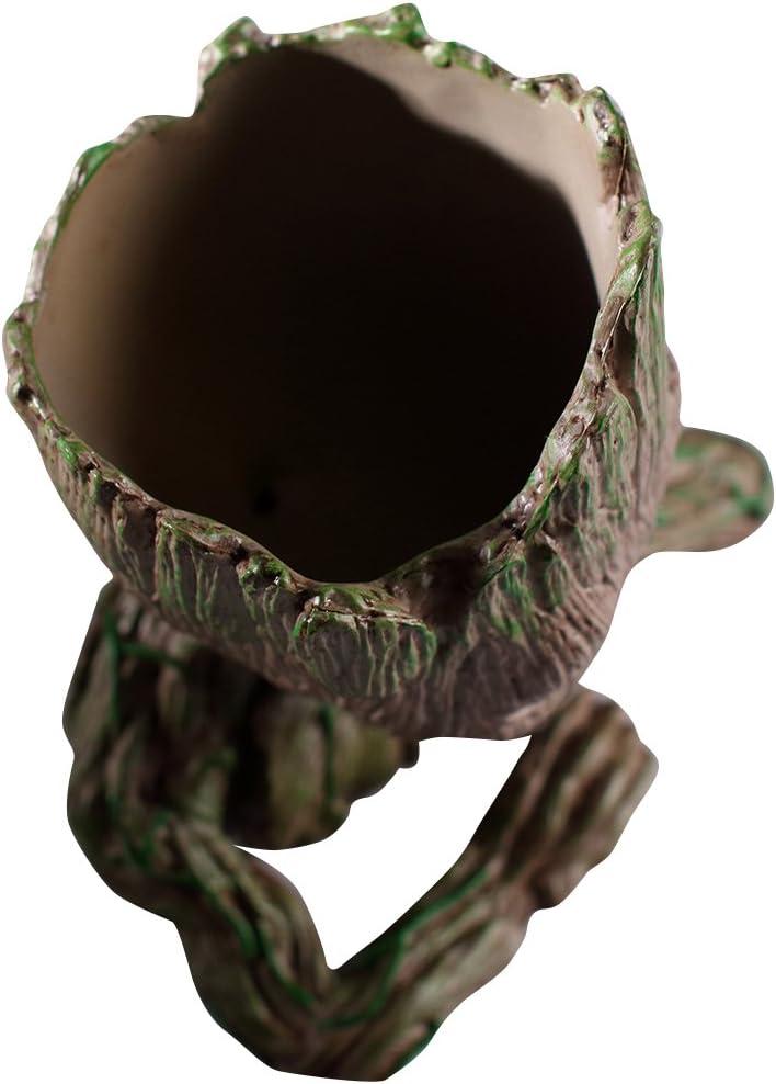 Parfait comme Cadeau A Je sappelle B/ÉB/É Groot thematys Baby Groot Pot de Fleur Figurine daction pour Plantes et stylos du Film Classique