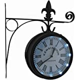 Amazon Com Outdoor Garden Clock Paddington 27cm 10