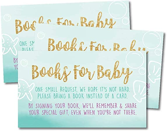 For the Library of Bookplates Red Navy Blue Anchor Boy /& Girl BS360 Nautical Book Request Baby Shower ~ Instant Download Book Request Cards