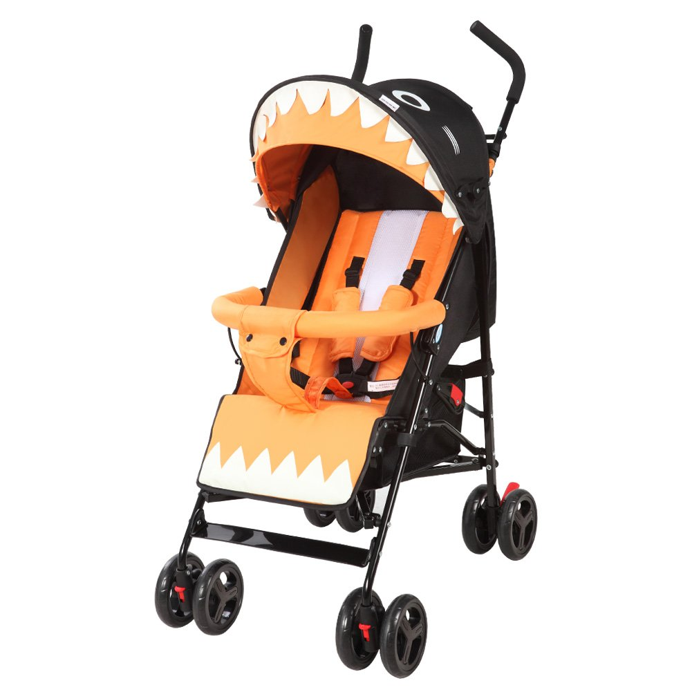Baby Stroller with Pull Rod Umbrella Stroller One-hand Fold Design Baby Infant Travel Stroller