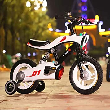M-YN Bicicleta Niños con Ruedines Niños Los niños del niño for ...