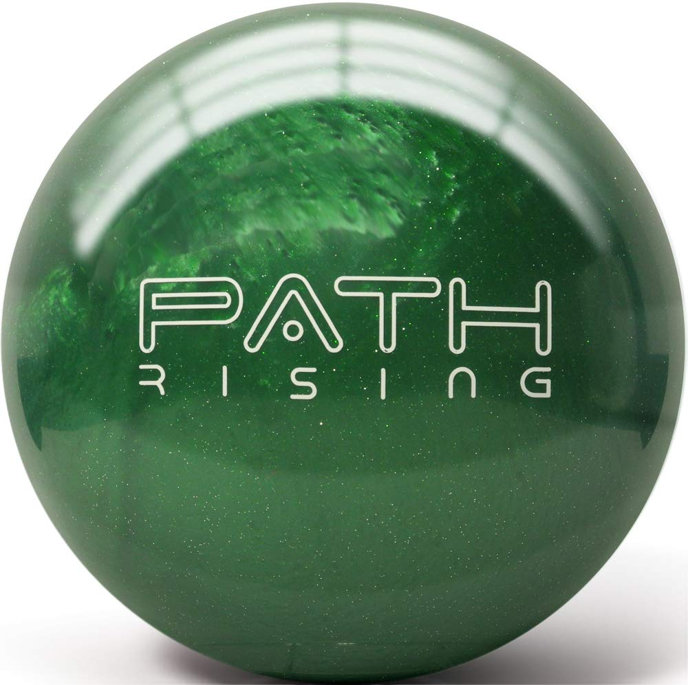Pyramid Path Rising Bowling Ball (Kelly Green Sparkle, 8 LB) by Pyramid
