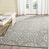 Safavieh Blossom Collection BLM218A Handmade Grey Premium Wool Area Rug (6′ x 9′)