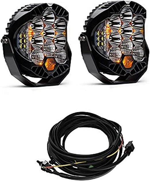 Baja Designs 640172 LP9 Pro Wiring Harness 2-Light Max