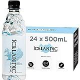 Icelandic Glacial Natural Spring Alkaline Water, 16.9 Fl Oz (Pack of 24)