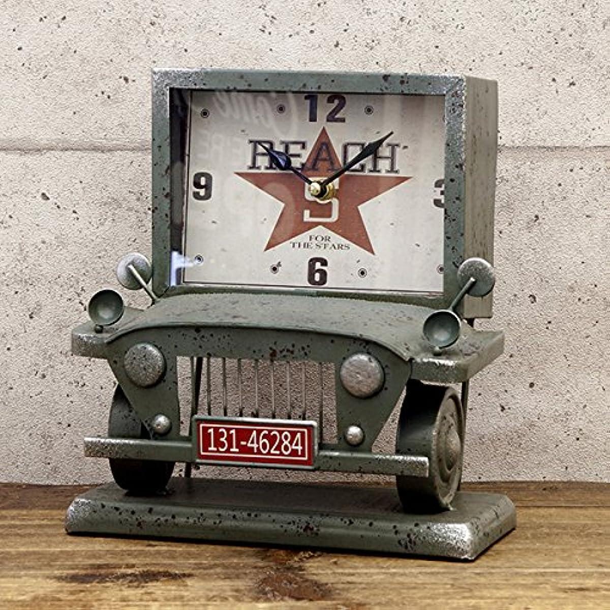 [해외] 【아메리칸 레트로 clock 】트럭/블루 탁상시계 빈티지 clock 앤틱 clock/미국 시계/멋쟁이 시계 오브제 빈티지 개러지 아메리칸 잡화 미국 잡화 레트로
