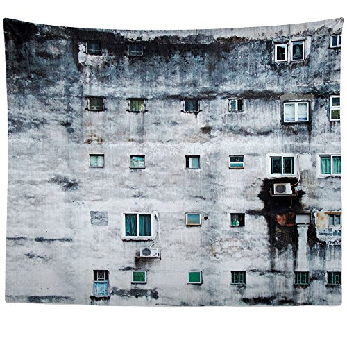 (Westlake Art - Wall Hanging Tapestry - Window Urban - Photography Home Decor Living Room - 51x60in)