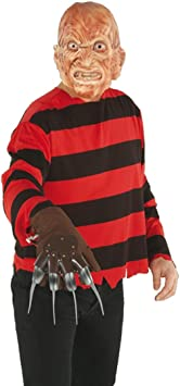 Disfraz de Freddy Kruger Killer disfraz asesino de terror Horror ...