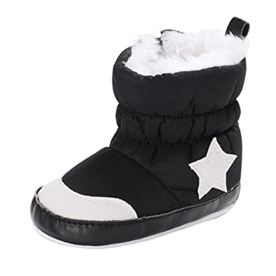 Baby Boys Cute Balls Soft Snow Boots Infant Toddler Newborn Warming Winter Thick Booties SHOBDW Girls Shoes