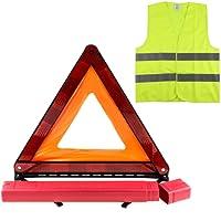 Zacro Kit Triangle Gilet Homologue( 42.5× 42.5cm), Kit auto sécurite